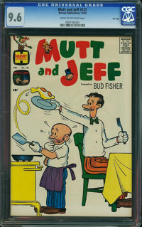 Mutt and Jeff #121 - File Copy (Harvey, 1960) CGC NM+ 9.6 Cream to off-white pages