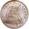 Seated Dollars, 1873 $1 MS64 PCGS....