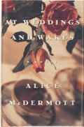 Books:Signed Editions, Alice McDermott. SIGNED. At Weddings and Wakes. New York: Farrar Straus Giroux, [1992]. First edition. Signed by a...