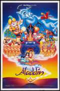 "Movie Posters:Animated, Aladdin (Buena Vista, 1992). One Sheet (27"" X 41"") DS. Animated....."