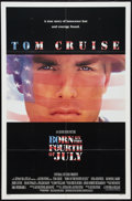 """Movie Posters:War, Born on the Fourth of July Lot (Universal, 1989). One Sheets (2)(27"""" X 41""""). War.. ... (Total: 2 Items)"""