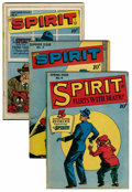 Golden Age (1938-1955):Crime, The Spirit #4-6 Group (Quality, 1946).... (Total: 3 Comic Books)