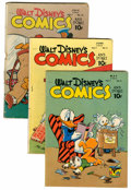 Golden Age (1938-1955):Cartoon Character, Walt Disney's Comics and Stories #80-95 Group (Dell, 1947-48)....(Total: 16 Comic Books)
