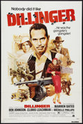 """Movie Posters:Crime, Dillinger Lot (American International, 1973). One Sheets (2) (27"""" X 41""""). Crime.. ... (Total: 2 Items)"""