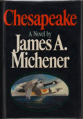 Books:First Editions, James A. Michener. Chesapeake. New York: Random House,[1978]. First edition, second printing. Publisher's original ...