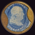 Encased Postage: , HB-28 EP-4a 1¢ Ayer's Sarsaparilla Medium Ayer's Choice About New.....