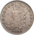 Bust Half Dollars, 1808 50C AU53 PCGS. O-107a. Ex: Frederick Collection. PCGSPopulation (37/152). NGC Census: (26/121). Mintage: 1,368,600. N...