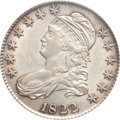 Bust Half Dollars: , 1822 50C AU55 PCGS. PCGS Population (87/245). NGC Census: (66/265).Mintage: 1,559,573. Numismedia Wsl. Price for problem f...