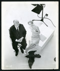 """Movie Posters:Hitchcock, Alfred Hitchcock Photo Lot (Various, 1954-1963). Photos (4) (8"""" X10"""" and 7.5"""" X 9.75""""). Hitchcock.. ... (Total: 4 Items)"""