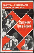 "Movie Posters:Adult, See How They Come (GFE, 1968). One Sheet (27"" X 41""). Adult.. ..."