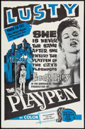 """Movie Posters:Adult, The Playpen (American Art Films, 1967). One Sheet (27"""" X 41""""). Adult.. ..."""