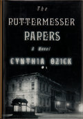 Books:Signed Editions, Cynthia Ozick. SIGNED. The Puttermesser Papers. ...