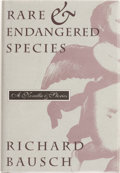 Books:Signed Editions, Richard Bausch. SIGNED. Rare & Endangered Species. ...