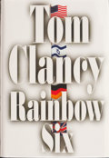 Books:Signed Editions, Tom Clancy. SIGNED. Rainbow Six. ...