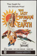 "Movie Posters:Science Fiction, The Last Woman on Earth (Film Group, 1960). One Sheet (27"" X 41""). Science Fiction.. ..."
