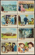 """Movie Posters:Western, The Alamo (United Artists, 1960). Lobby Card Set of 8 (11"""" X 14""""). Western.. ... (Total: 8 Items)"""