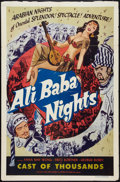 "Movie Posters:Adventure, Chu Chin Chow (Lippert, R-1953). One Sheet (27"" X 41""). Reissued asAli Baba Nights. Adventure.. ..."