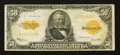 Large Size:Gold Certificates, Fr. 1200 $50 1922 Gold Certificate Fine.. ...