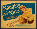 "Movie Posters:Comedy, Naughty But Nice (Warner Brothers, 1939). Title Lobby Card (11"" X14""). Comedy.. ..."