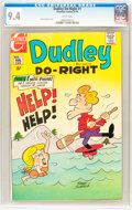 Bronze Age (1970-1979):Cartoon Character, Dudley Do-Right #1 (Charlton, 1970) CGC NM 9.4 White pages....