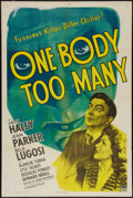 """Movie Posters:Comedy, One Body Too Many (Paramount, 1944). One Sheet (27"""" X 41""""). Comedy.. ..."""