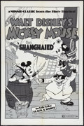 "Movie Posters:Animated, Shanghaied (Buena Vista, R-1974). One Sheet (27"" X 41""). Animated.. ..."