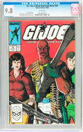 Modern Age (1980-Present):War, G. I. Joe, A Real American Hero #78 (Marvel, 1988) CGC NM/MT 9.8 White pages....