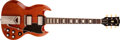 "Musical Instruments:Electric Guitars, 1961 Gibson Les Paul ""SG"" Cherry Solid Body Electric Guitar,#15653. ..."