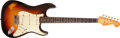 Musical Instruments:Electric Guitars, 1963 Fender Stratocaster Sunburst Solid Body Electric Guitar,#L02720....