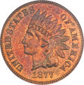 Proof Indian Cents, 1877 1C PR64 Red and Brown PCGS. CAC....