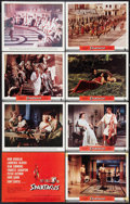 "Movie Posters:Adventure, Spartacus (Universal International, 1960). Deluxe Title Card andLobby Cards (7) (11"" X 14""). Adventure.. ... (Total: 8 Items)"