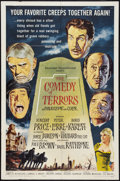"""Movie Posters:Horror, The Comedy of Terrors (American International, 1964). One Sheet (27"""" X 41""""). Horror.. ..."""