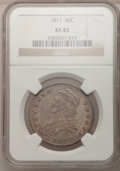 Bust Half Dollars: , 1817 50C XF45 NGC. NGC Census: (46/240). PCGS Population (66/245).Mintage: 1,215,567. Numismedia Wsl. Price for problem fr...