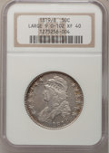 Bust Half Dollars, 1819/8 50C Large 9 XF40 NGC. O-102. NGC Census: (0/0). PCGSPopulation (18/103). (#6119)...