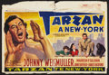 "Movie Posters:Adventure, Tarzan's New York Adventure (MGM, Late 1940s). Post War Belgian(15"" X 21.5""). Adventure.. ..."