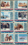 """Movie Posters:War, The Sea Shall Not Have Them (Rank, 1954). British Lobby Card Set of8 (11"""" X 14""""). War.. ... (Total: 8 Items)"""