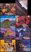 "Movie Posters:Animated, The Hunchback of Notre Dame (Buena Vista, 1996). International Lobby Card Set of 8 (11"" X 14""). Animated.. ... (Total: 8 Items)"