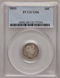 Barber Dimes: , 1895 10C Good 6 PCGS. PCGS Population (4/164). NGC Census: (3/105).Mintage: 690,000. Numismedia Wsl. Price for problem fre...