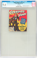 Golden Age (1938-1955):War, Mighty Midget Comics Commando Yank #12 (Fawcett, 1943) CGC NM+ 9.6White pages....