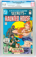 Modern Age (1980-Present):Horror, Secrets of Haunted House #27 (DC, 1980) CGC NM/MT 9.8 Whitepages....