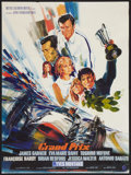 """Movie Posters:Sports, Grand Prix (MGM, 1967). French Affiche (23.5"""" X 31""""). Sports.. ..."""