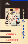 Books:Literature 1900-up, Andrea Barrett. SIGNED. Lucid Stars. ...