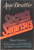 Books:Signed Editions, Ann Beattie. SIGNED. Secrets and Surprises. ...