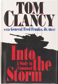 Books:Signed Editions, Tom Clancy with General Fred Franks, Jr. Into the Storm. A Study in Command. New York: G. P. Putnam's Sons, [199...