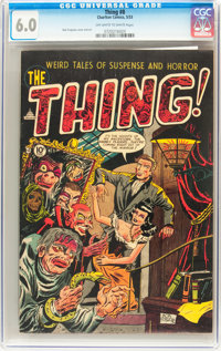 The Thing! #8 (Charlton, 1953) CGC FN 6.0 Off-white to white pages