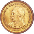 Commemorative Gold, 1905 G$1 Lewis and Clark MS65 PCGS Secure....