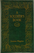 Books:First Editions, Joanna Higgins. A Soldier's Book. Sag Harbor, New York: ThePermanent Press, [1998]. First edition. Publisher's orig...