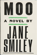 Books:Signed Editions, Jane Smiley. Moo. New York: Alfred A. Knopf, 1995. First edition. Signed by the author on the title page. Publis...