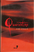 Books:Signed Editions, Jim Crace. Quarantine. [1997]. First edition, first printing. Signed and dated by the author on the title page. ...