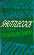 Books:Signed Editions, Graham Swift. Shuttlecock. [London]: Allen Lane, [1981]. First edition. Signed by the author on the title page. ...